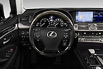 Car pictures of steering wheel view of a 2016 Lexus LS L 4 Door Sedan 2WD Steering Wheel