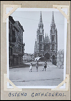 BNPS.co.uk (01202 558833)<br /> Pic: Bellmans/BNPS<br /> <br /> Ostend Cathederal.<br /> <br /> A fascinating trove of SAS records including some of the first photographs of the elite force which have never been seen before has been unearthed. <br /> <br /> The extensive assortment, also including medals and documents, was accumulated by war hero Lance Corporal William James Cooke at the end of World War Two. <br /> <br /> Remarkable images of Cooke's previously unrevealed wartime exploits show him serving behind enemy lines in occupied France and assisting with the liberation of Norway. <br /> <br /> His accomplishments have come to light after a family member presented the bequeathed collection to Hampshire-based auctioneer Bellmans, which will sell it tomorrow.
