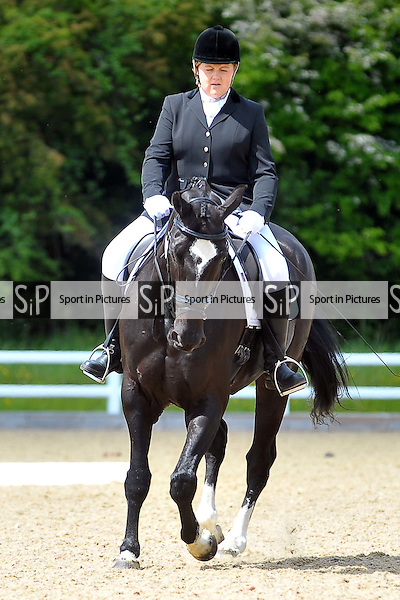 Class 5. Novice 27. Brook Farm Championships, points league and Trailblazers Unaffiliated Dressage. Brook Farm Training Centre. Essex. 30/05/2015. MANDATORY Credit Ellie Ingram/Sportinpictures - NO UNAUTHORISED USE - 07837 394578