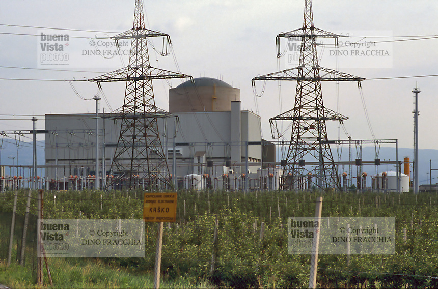 - nuclear power station of Krsko<br /> <br /> - centrale elettronucleare di Krsko