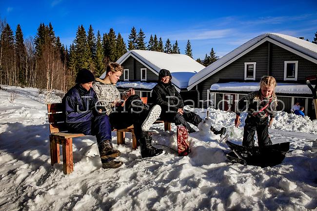 Skiferie i &Aring;re, Tegefj&auml;ll og Duved i Sverige.<br /> <br /> Foto: Jens Panduro