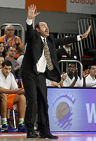 Mad-Croc Fuenlabrada's coach Trifon Poch during Liga Endesa ACB match.November 18,2012. (ALTERPHOTOS/Acero) NortePhoto