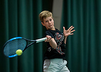 Wateringen, The Netherlands, December 1,  2019, De Rhijenhof , NOJK 12 and16 years, and Thijs Boogaard (NED)<br /> Photo: www.tennisimages.com/Henk Koster