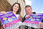 SLOGAN: Siobhan Ashe and Adam Pierse of the Youth Committee of the Chapter 23 Credit Union which is hosting a competition to find a new slogan for local credit unions.