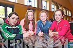 Brian Foyle Kiara Murphy, Cory Dowling and leah Foyle from Killoughteen NS New Castlewest  at the Chapter 23 Credit Union Schools Quiz finals at Ballyroe Heights Hotel on Sunday
