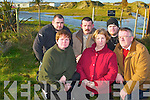 NO MORE CARAVANS: Locals from the Banna-Carrahan Residents Committee are objecting to a planning application for 195 more holiday caravans in their area. From front l-r were: Mary Lawlor, Gina OKeeffe, Donal OKeeffe. Back l-r were: Johnny OSullivan, Pat Lawlor, Walter Sheahan and Padriag OSullivan.