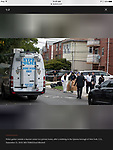 Birthing Center Stabbing Story In Flushing, Queens. Multiple people stabbed at an illegal overnight daycare on 9-20-18. Shot for Reuters.