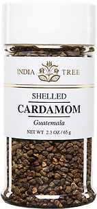 30603 Shelled Cardamom, Small Jar 2.3 oz, India Tree Storefront