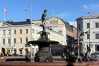 Havis-Amanda-Brunnen in Helsinki, Finnland