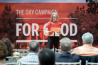 Trustee Chair Susan Howell Mallory '76 M'78<br /> Occidental College launched the public phase of the Oxy Campaign For Good, a comprehensive effort to raise $225 million to strengthen its financial aid endowment and academic and co-curricular programs, at a May 18, 2019 Campaign Leadership Summit on the Occidental campus. More than 100 Oxy community members participated, getting a first-hand look at current programs and celebrated what the Campaign means for the future of Oxy.<br /> (Photo by Marc Campos, Occidental College Photographer)