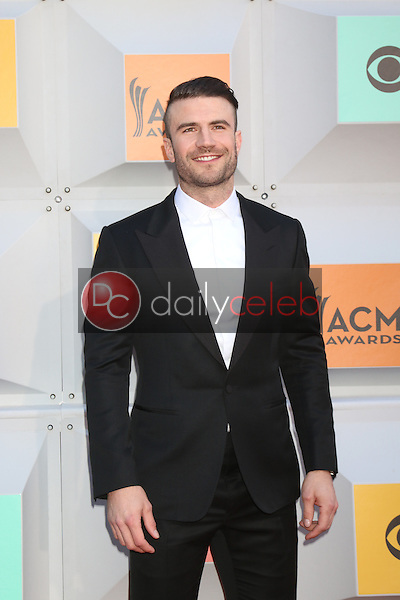 Sam Hunt<br /> at the 2016 Academy of Country Music Awards Arrivals, MGM Grand Garden Arena, Las Vegas, NV 04-03-16<br /> David Edwards/DailyCeleb.com 818-249-4998