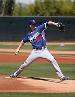 Ross Stripling - Los Angeles Dodgers 2015 extended spring training (Bill Mitchell)