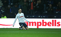 Preston North End's Alan Browne celebrates scoring his side's equalising goal to make the score 1-1<br /> <br /> Photographer Stephen White/CameraSport<br /> <br /> The EFL Sky Bet Championship - Preston North End v Hull City - Wednesday 26th December 2018 - Deepdale Stadium - Preston<br /> <br /> World Copyright &copy; 2018 CameraSport. All rights reserved. 43 Linden Ave. Countesthorpe. Leicester. England. LE8 5PG - Tel: +44 (0) 116 277 4147 - admin@camerasport.com - www.camerasport.com