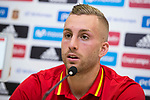 Spainsh Gerard Deulofeu during press conference at city of football of Las Rozas in Madrid, June 04, 2017. Spain.<br /> (ALTERPHOTOS/BorjaB.Hojas)