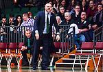S&ouml;dert&auml;lje 2015-01-17 Basket Basketligan S&ouml;dert&auml;lje Kings - Bor&aring;s Basket :  <br /> S&ouml;dert&auml;lje Kings tr&auml;nare headcoach coach Vedran Bosnic reagerar under matchen mellan S&ouml;dert&auml;lje Kings och Bor&aring;s Basket <br /> (Foto: Kenta J&ouml;nsson) Nyckelord:  Basket Basketligan S&ouml;dert&auml;lje Kings SBBK T&auml;ljehallen Bor&aring;s portr&auml;tt portrait