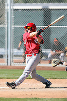 Cody Puckett - Cincinnati Reds 2010 minor league spring training..Photo by:  Bill Mitchell/Four Seam Images.