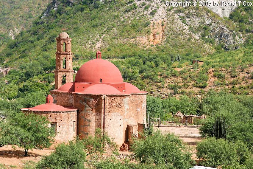 Catedral Perdido, Batopilas, Copper Canyon, Mexico