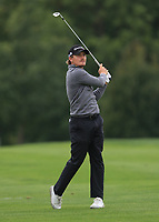 Pontus Widegren (SWE) on the 5th fairway during Round 3 of the D+D Real Czech Masters at the Albatross Golf Resort, Prague, Czech Rep. 02/09/2017<br /> Picture: Golffile | Thos Caffrey<br /> <br /> <br /> All photo usage must carry mandatory copyright credit     (&copy; Golffile | Thos Caffrey)