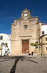 Facade of the convent of Santo Domingo church, Jerez de la Frontera, Spain