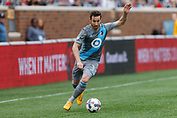 Minneapolis, MN - Sunday, April 23, 2017: Minnesota United FC played the Colorado Rapids in a Major League Soccer (MLS) game at TCF Bank stadium. Final score Minnesota United FC 1, Colorado Rapids 0