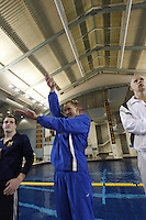 The University of Florida's Marcin Cieslak competes in the 200 Individual Medley at the 2011 Men's NCAA Swimming & Diving Championships being held at the University of Minnesota in Minneapolis, MN. March 24th - 26th, 2011.