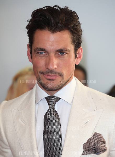 David Gandy arriving for the 013 Glamour Awards, Berkeley Square, London. 04/06/2013 Picture by: Alexandra Glen / Featureflash