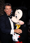 Dick Clark with Mickey Mouse.Attending the Academy of Television Arts and Sciences'.Hall of Fame Awards at Walt Disney World in Orlando, Florida..October 5, 1996.