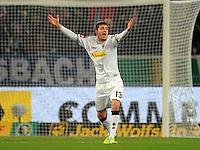 Fussball DFB Pokal:  Saison   2011/2012  Achtelfinale  21.12.2011 Borussia Moenchengladbach - FC Schalke 04 Roman Neustaedter (Borussia Moenchengladbach)