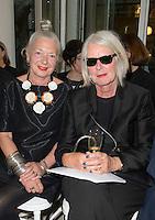 Wendy Dagworthy OBE and Betty Jackson