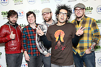 BALA CYNWYD, PA - NOVEMBER 5 :  Motion City Soundtrack visit Radio 104.5's iHeart Radio Performance Theater on November 5, 2012  © Star Shooter / MediaPunch Inc .<br />
