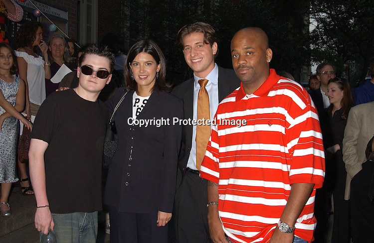 Robert Iler,  Phoebe Cates, Peter Cincotti and Damon Dash                                     ..at the Peter Cincotti benefit performance for PS 6 which was attended ..by many alumnis on June 11,2003. This event was to ..benefit the renovation of the PS 6 school library.Photo ..by Robin Platzer, Twin Images