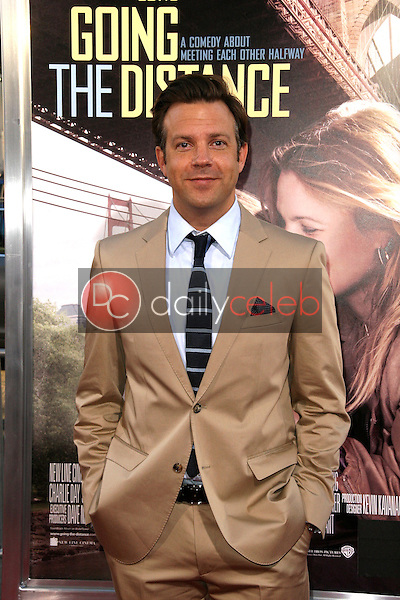 """Jason Sudeikis<br /> at the """"Going The Distance"""" Los Angeles Premiere, Chinese Theater, Hollywood, CA. 08-23-10<br /> David Edwards/Dailyceleb.com 818-249-4998"""