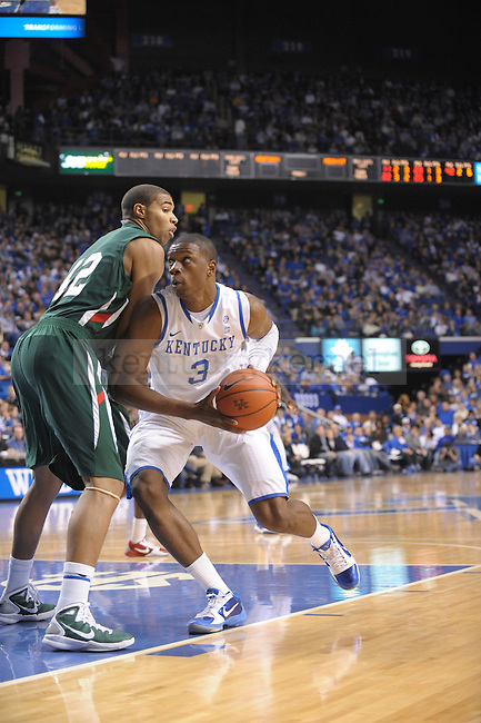 UK's Terrence Jones drives past a defender during the second half of the University of Kentucky Men's basketball game against Mississippi Valley State at Rupp Arena in Lexington, Ky., on 12/18/10. Uk won the game 85-60. Photo by Mike Weaver | Staff