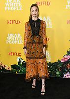 "01 August 2019 - Los Angeles, California - Caitlin Carver. Netflix's ""Dear White People"" Season 3 Los Angeles Premiere held at TRegal Cinemas LA Live. Photo Credit: Birdie Thompson/AdMedia"