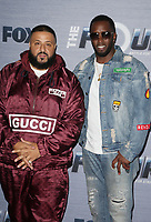 WEST HOLLYWOOD, CA - FEBRUARY 8: DJ Khaled and Sean Combs at the season finale viewing party for The Four: Battle For Stardom at Delilah in West Hollywood, California on February 8, 2018. Credit: Faye Sadou/MediaPunch