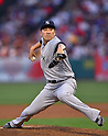 MLB: NY Yankees pitcher Masahiro Tanaka pitches against Los Angeles Angels