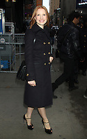 NEW YORK, NY - NOVEMBER 8: Jessica Chastain at Good Morning America in New York City. November 8, 2012. Credit: RW/MediaPunch Inc. .<br /> &copy;NortePhoto