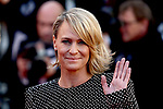 Cannes Film Festival 2017 - Day 1 - Opening. Robin Wright on the red carpet for the opening ceremony of the 70th edition of the Festival International du Film on 17/05/2017 in Cannes, France. Guests are welcomed by International Cannes Film Festival General Delegate, Thierry Fremaux and Festival President, Pierre Lescure.