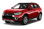 2019 Mitsubishi ASX Instyle 5 Door SUV Angular Front stock photos of front three quarter view