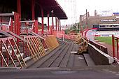 23/06/2000 Blackpool FC Bloomfield Road Ground..West paddock entrance ....© Phill Heywood.
