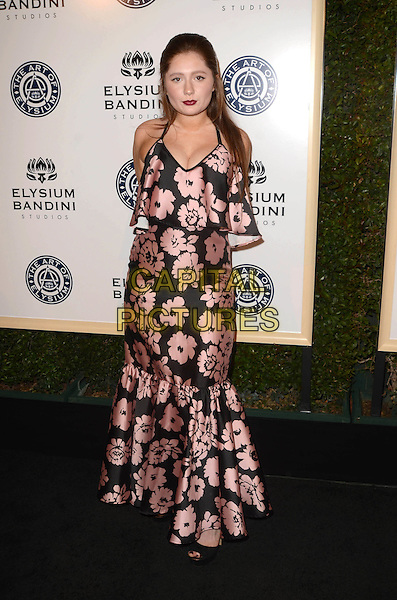 LOS ANGELES, CA - JANUARY 7: Emma Kenney at the The Art Of Elysium Tenth Annual Celebration 'Heaven' Charity Gala at Red Studios in Los Angeles, California on January 7, 2017. <br /> CAP/MPI/DE<br /> &copy;DE/MPI/Capital Pictures