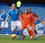 24.3.2018: Rangers legends match:<br /> Jarg Albertz with Kevin Thomson and Lorenzo Amoruso