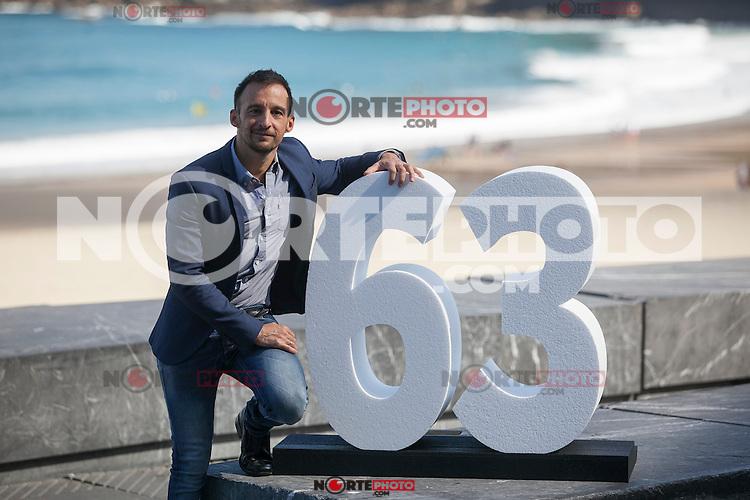 Spanish movie director Alejandro Amenabar poses during `Regression´ film presentation at 63rd Donostia Zinemaldia (San Sebastian International Film Festival) in San Sebastian, Spain. September 18, 2015. (ALTERPHOTOS/Victor Blanco) /NortePhoto.com