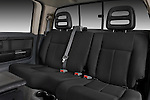 Rear seats of a 2008 Mitsubishi Raider pickup truck