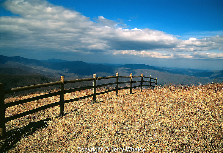 Fence on Appalachian Trail