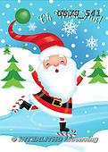 Janet, CHRISTMAS SANTA, SNOWMAN, WEIHNACHTSMÄNNER, SCHNEEMÄNNER, PAPÁ NOEL, MUÑECOS DE NIEVE, paintings+++++,USJS541,#x#