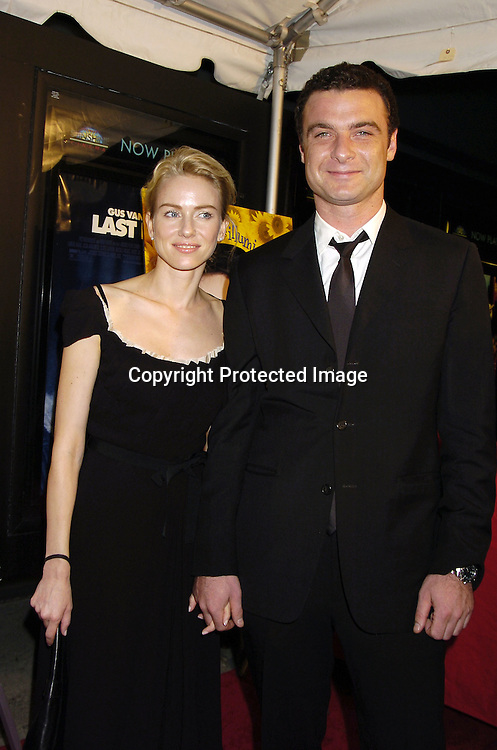 "Naomi Watts and Liev Schreiber ..at The New York City Premiere of "" Everything Is Illuminated"" on September 15, 2005 at the Landmark Sunshine Cinema. Liev Schreiber directed the movie and Elijah Wood stars in it. ..Photo by Roibn Platzer, Twin Images"