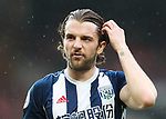 Jay Rodriguez of West Bromwich Albion during the premier league match at the Old Trafford Stadium, Manchester. Picture date 15th April 2018. Picture credit should read: Simon Bellis/Sportimage