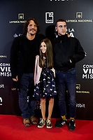 Sergio Peris-Mencheta and Alex Monner attends to 'Como la Vida Misma' film premiere during the 'Madrid Premiere Week' at Callao City Lights cinema in Madrid, Spain. November 12, 2018. (ALTERPHOTOS/A. Perez Meca) /NortePhoto.com