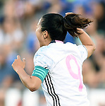 Yuki Ogimi (JPN), JUNE 2, 2016 - Football / Soccer : Yuki Ogimi of Japan celebrates after scoring their 2nd goal during the Women's International Friendly match between United States 3-3 Japan at Dick's Sporting Goods Park in Commerce City, Colorado, United States. (Photo by AFLO)